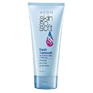 AVON SSS FRESH & SMOOTH SENSITIVE SKIN SHAVE GEL